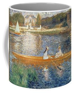 Boating On The Seine Coffee Mug