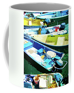 Boats At Avalon Coffee Mug