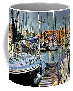 Boats At Kemah Coffee Mug
