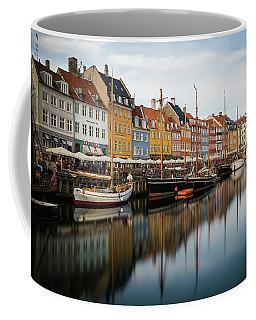 Boats At Nyhavn In Copenhagen Coffee Mug