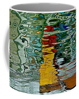 Boats In A Reflection Coffee Mug