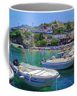 Boats In Bali Coffee Mug