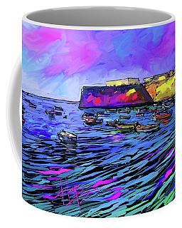 Boats In Cadiz, Spain Coffee Mug