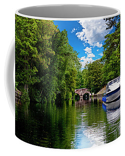Boats In Norwich Coffee Mug
