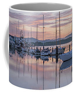 Boats In Pastel Coffee Mug by Suzy Piatt