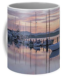 Boats In Pastel Coffee Mug