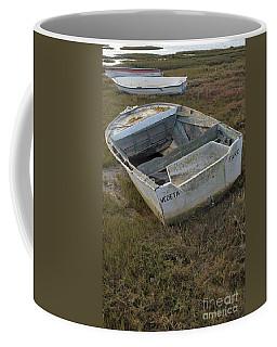 Boats In Ria Formosa Coffee Mug by Angelo DeVal