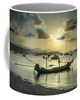 Boats In The Bay Coffee Mug