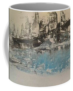 Boats In The Harbour Coffee Mug