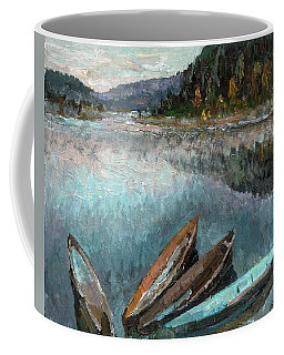 Boats In The Kin Coffee Mug