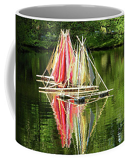 Boats Landscape Coffee Mug