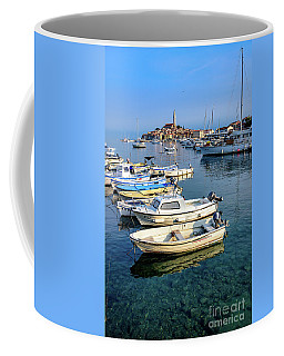 Boats Of The Adriatic, Rovinj, Istria, Croatia  Coffee Mug