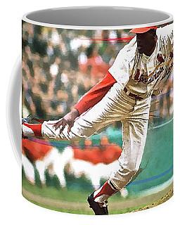Bob Gibson, 1964 Game 7 Series Mvp Coffee Mug