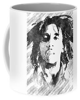 Bob Marley Bw Portrait Coffee Mug