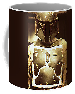 Boba Fett Helmet 34 Coffee Mug by Micah May