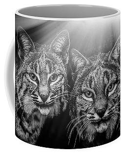 Bobcats Coffee Mug by Elaine Malott
