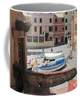 Boccadasse-  Genoa- Harbor Coffee Mug