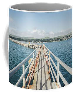 Bodega Bay Marina Coffee Mug