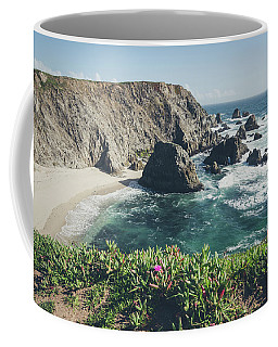 Coffee Mug featuring the photograph Bodega Head by Margaret Pitcher