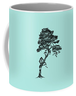 Bodhi Tree Of Awareness Coffee Mug by Tammy Wetzel