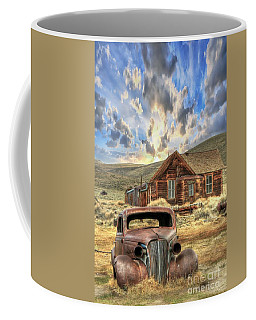 Bodie Ghost Town Coffee Mug by Benanne Stiens