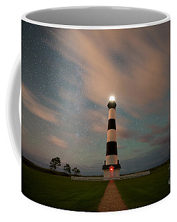 Bodie Island Lighthouse Dreamy Night Coffee Mug