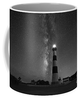 Bodie Island Lighthouse Milky Way Bw Coffee Mug