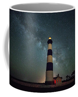 Bodie Lighthouse And Milky Way Coffee Mug