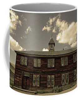 Coffee Mug featuring the photograph Bodie School House by Nick Boren