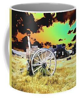 Bodie Wagon Coffee Mug by Jim and Emily Bush