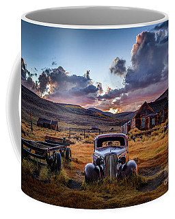 Bodie's 1937 Chevy At Sunset Coffee Mug