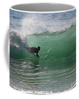 Body Surfer Coffee Mug