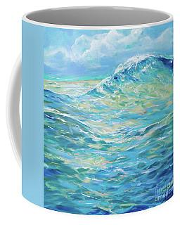 Bodysurfing Rolling Wave Coffee Mug