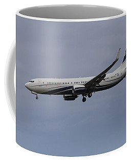 Boeing 737 Private Jet Coffee Mug