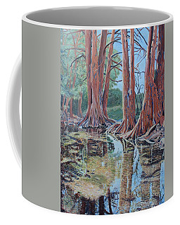 Boerne River Scene Coffee Mug