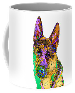 Bogart The Shepherd. Pet Series Coffee Mug