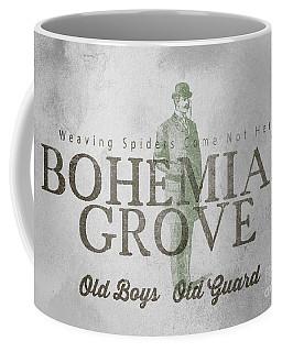 Bohemian Grove Sign Coffee Mug