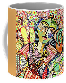 Bohemian Tea Garden Woman' Coffee Mug