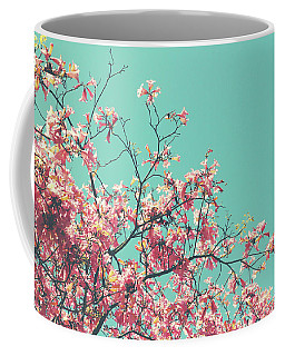 Boho Cherry Blossom 1- Art By Linda Woods Coffee Mug
