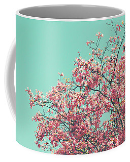 Boho Cherry Blossom 2- Art By Linda Woods Coffee Mug
