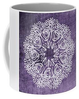 Boho Floral Mandala 2- Art By Linda Woods Coffee Mug