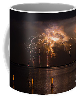 Boiling Energy Coffee Mug by Quinn Sedam