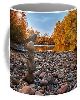 Boise River In Autumn Coffee Mug