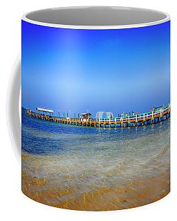 Bokeelia Fishing Pier Fl Coffee Mug by Chris Smith