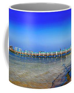 Bokeelia Panoramic Coffee Mug by Chris Smith