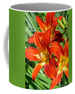 Bold And Beautiful Lilies Coffee Mug