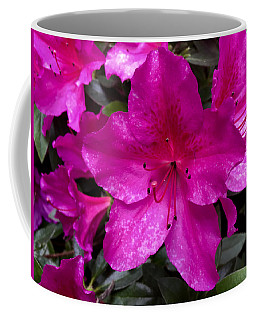 Bold Pink Flower Coffee Mug