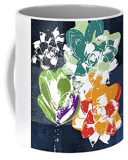 Succulent Mixed Media Coffee Mugs
