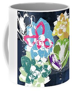Bold Succulents 2- Art By Linda Woods Coffee Mug