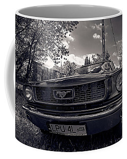 Coffee Mug featuring the photograph Bold by Tgchan